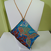 Portrait of a Fish Pendant Necklace