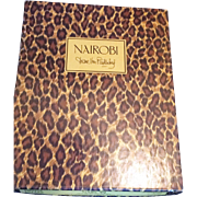 Diane Von Furstenberg  Leopard Nairobi Animal Print Vintage Stationery new in box
