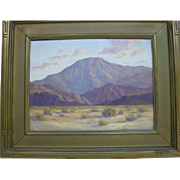 Walter Albert Engelhardt California Landscape Desert Mountain Oil Painting
