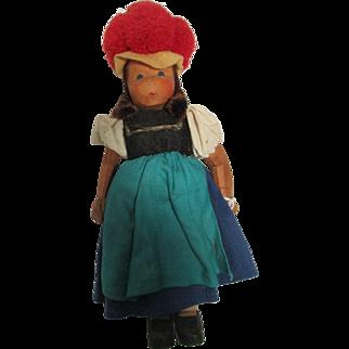 Lote Sievers Wood Doll