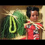 "8"" Hawaii Honolulu Doll All Original"