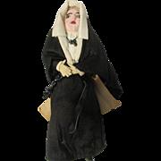 """6.25"""" Nun of Venezuela Paper Tag"""