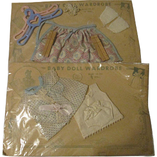 Two Sets of Clothing for Doll- Progressive Doll Corp. NYC