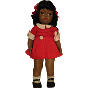 "Black Terri Lee 16"" Hard Plastic Doll From 1950's"