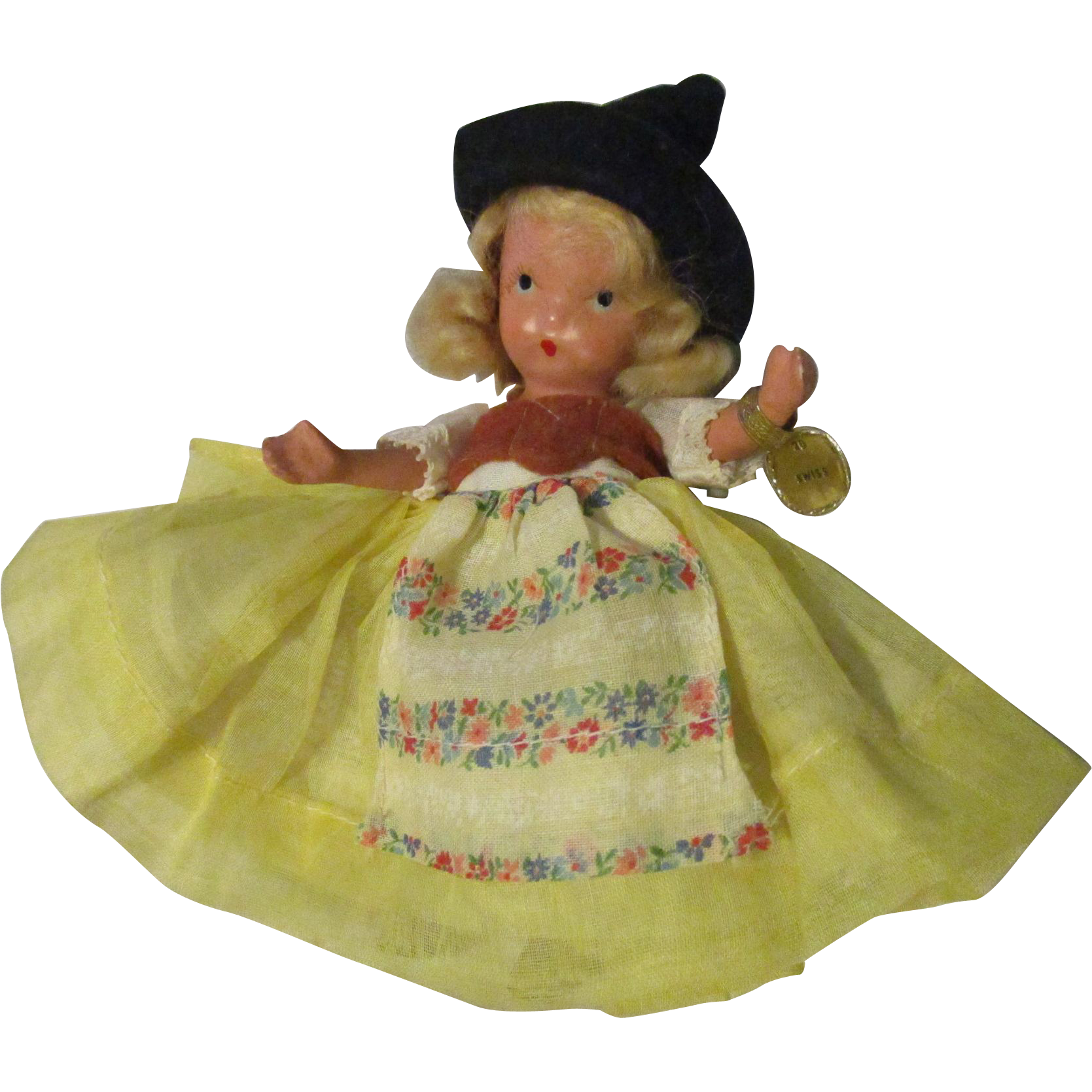 Nancy Ann Swiss Storybook Doll All Original