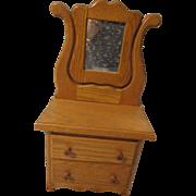 """18"""" Oak Doll Dresser"""