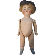 """4.25""""  German All Bisque Jointed Arms and Legs 520/2"""