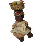 Black Jamaica Doll Original Outfit