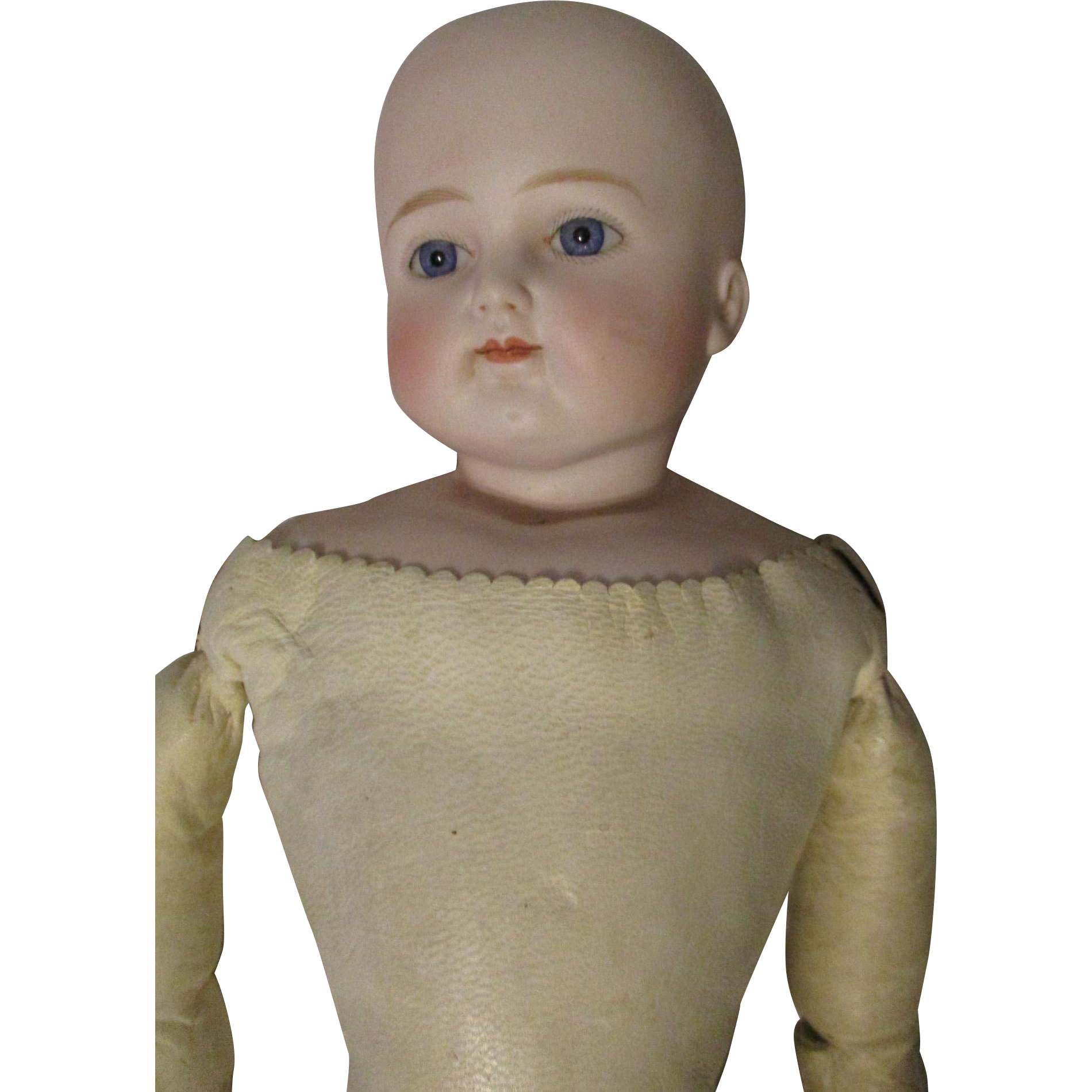"""23"""" Solid Dome Turned Head Bisque Doll 632  X H"""