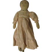 "15"" Cloth Printed Face Doll 15-0G"