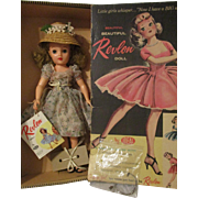 "18"" Ideal Revlon Doll Boxed All Original"