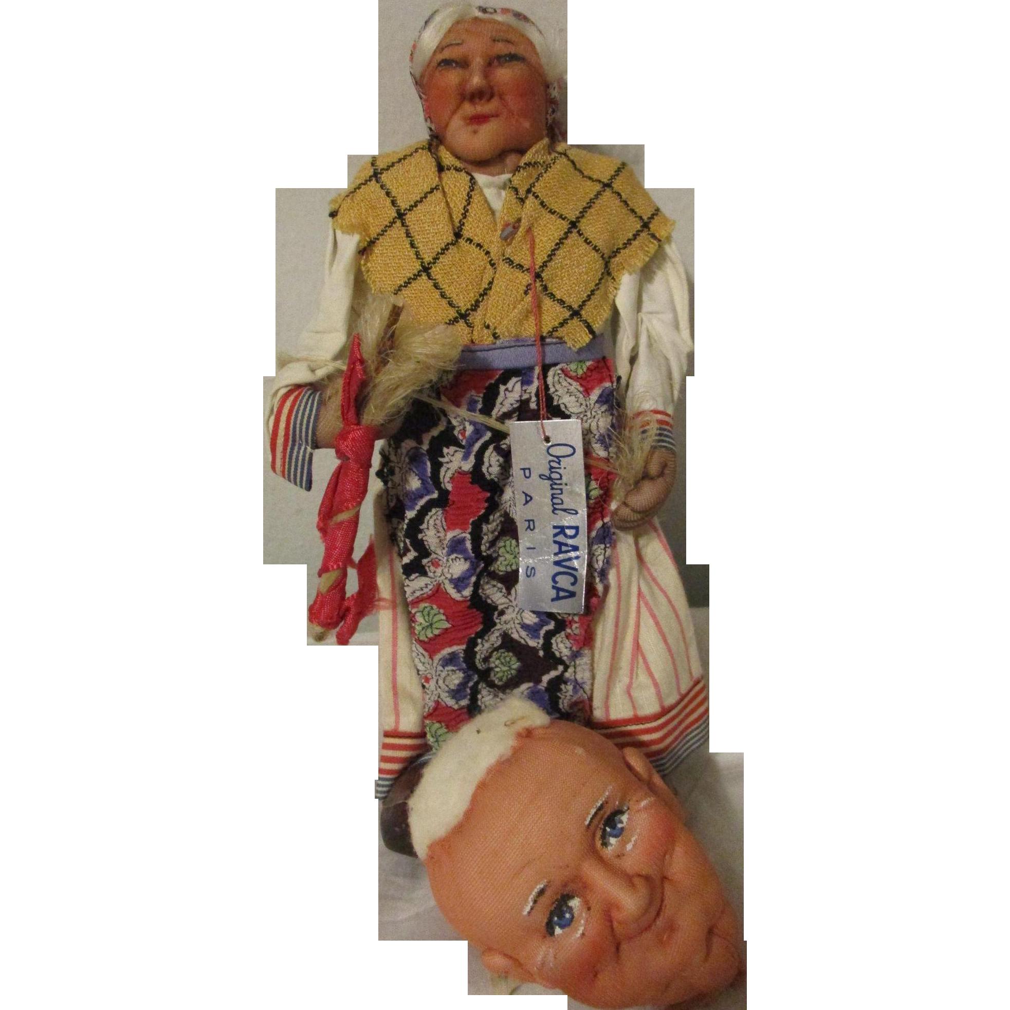 "9.5"" Stockinet Woman by Bernard Ravca and a 3"" Head"