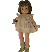 Effanbee Patsy Ann Composition Doll Tagged Dress All Original