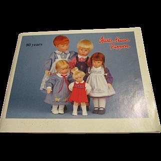 Kathe Kruse Color Catalog 64 Pages