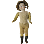 "7.5"" Bisque Head Doll German 573/4"