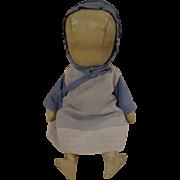 Amish Doll Oil Cloth All Original