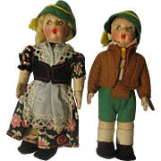 Italian Fetish Pair Cloth Dolls