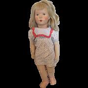 "German Kathe Kruse 20""  Girl Doll VIII"