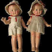 Arranbee Nancy Composition Dolls