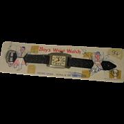 West Germany Wrist Watch on Card