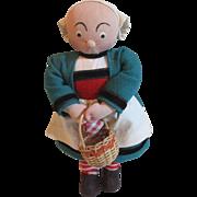 """8"""" L'Enfance De Becassine Stockinette Cloth  Doll"""