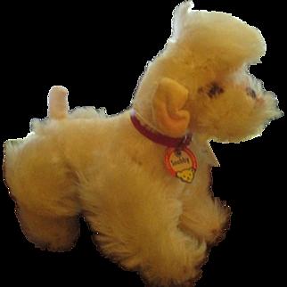 Steiff Snobby Dog Tagged  Vintage