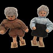 Crepe Paper Dolls
