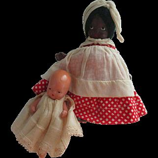 Nancy Ann Storybook Mammy & Baby