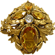 Joseff Of Hollywood Brooch