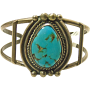 Turquoise an Sterling Silver Cuff Bracelet