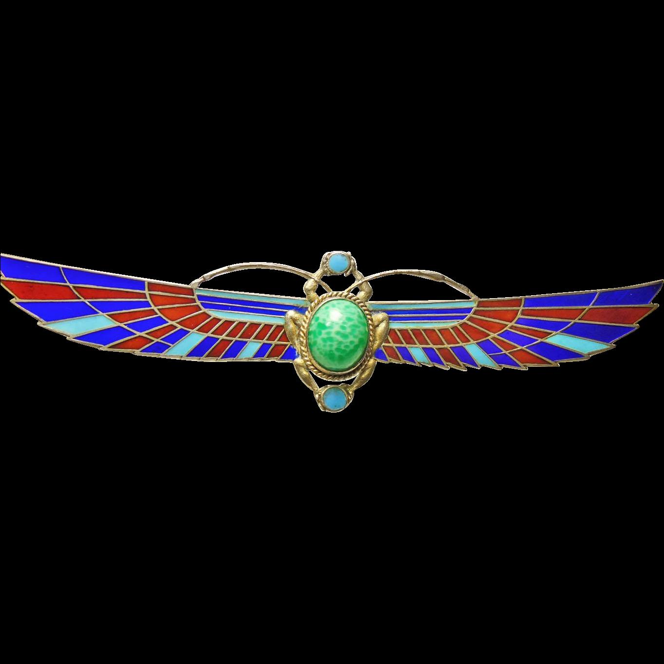 egyptian winged scarab - photo #4