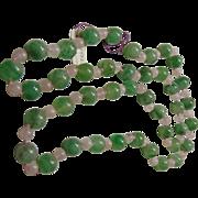 Aventurine and Rose Quartz Endless Necklace