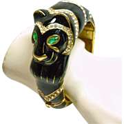 Ciner Black Panther Clamper Bracelet