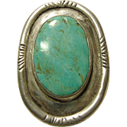 Sterling Silver Bolo with Turquoise