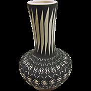 Acoma Gourd Shape Pottery Vale