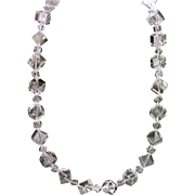 Natural Rock Quartz Bead Necklace