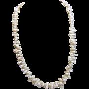 Light Pink Angel Skin Coral Short Branch Necklace