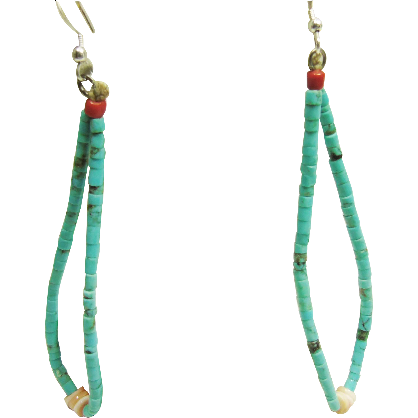 Vintage Jacla Turquoise Earrings