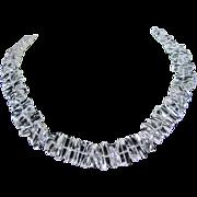 Natural Quartz Crystal Necklace