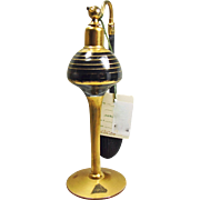 Deco Pyramid Atomizer in Black and Gold