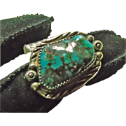 Turquoise and Sterling Silver Ring