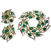 Kramer of NY Brooch and Earrings
