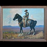 "Ethel Irene (Haworth) Blandin  (1887 - 1969) ""Indian Country, Sedona, AZ"""
