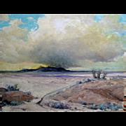 Walt Alonzo Lee   1888 - 1980 - California Artist Oil on Canvas