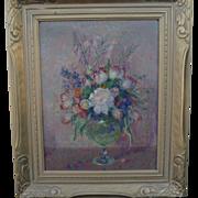 Theodore Nicolai Lukits  (1897 - 1992) Org. Oil Still Life