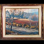 Lynn Karp Original Oil Painting Listed Early Walt Disney Artist
