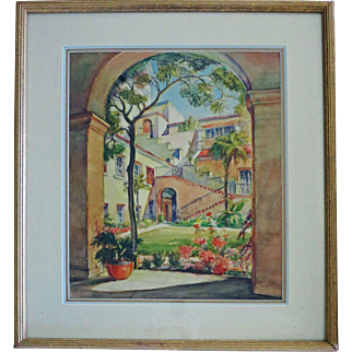 Original W/C by Orpha Klinker  (1891 - 1964)