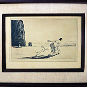 Claude Shepperson  (1867 - 1921) Engraving, Listed English artist