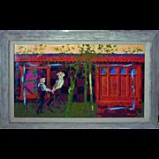 Lenard Kester  (1917 - 1997) Org. Oil on Canvas California Artist