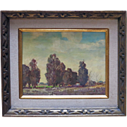 "Walt Lee (188-1980) Original oil titled ""Serenity"""